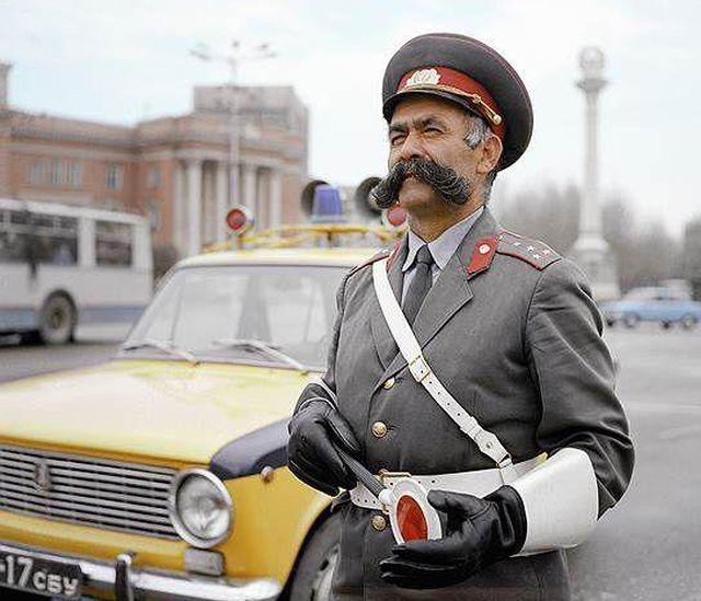Awesome Russia - Traffic Cop