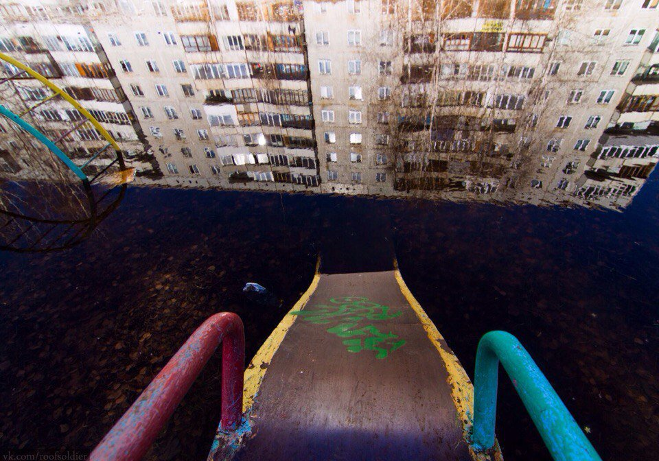 Awesome Photos From Russia - Drowned Park