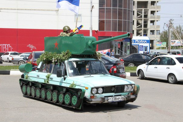Awesome Photos From Russia - Modified Tank Car