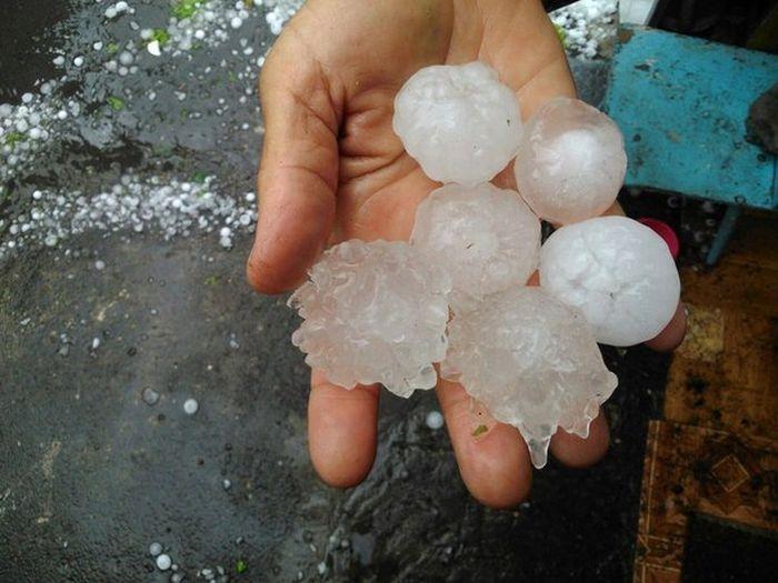 Protecting Car From Hail - Big Hail