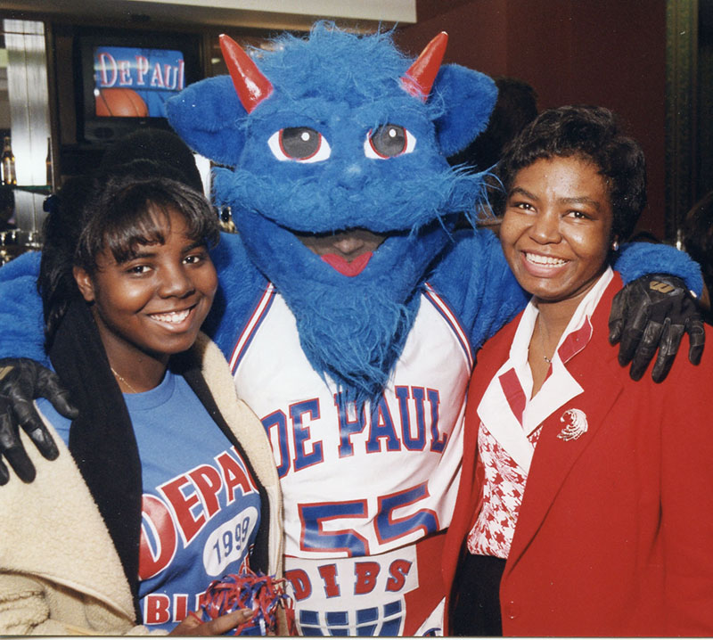 DIBS with fans, 1999