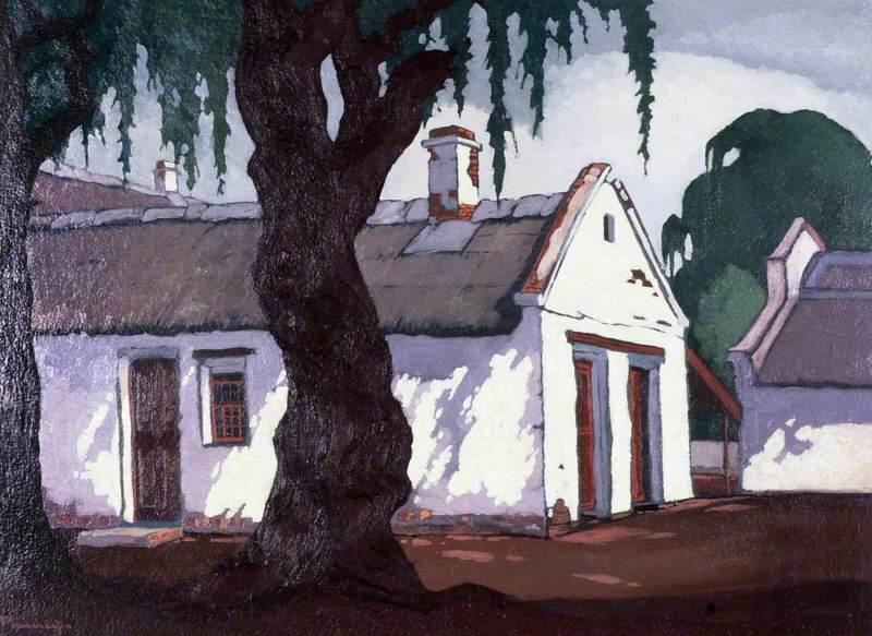 Pierneef, Jacob Hendrik, 1886-1957; Huis Nelmapius Agter, Pretoria, South Africa