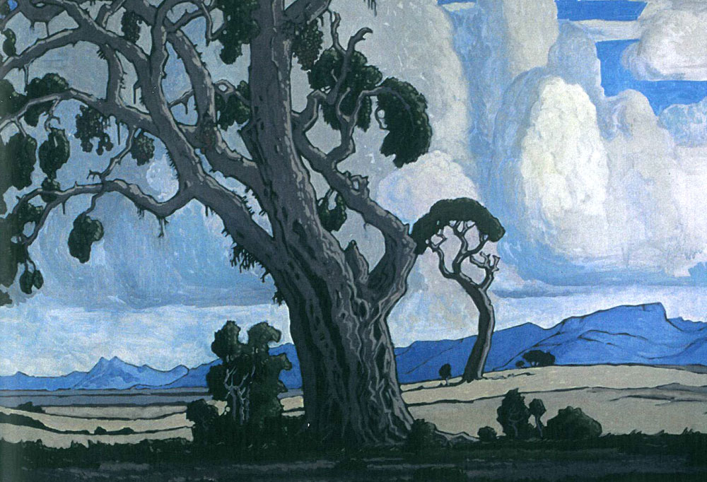 Jacobus Hendrik Pierneef - Grey Tree