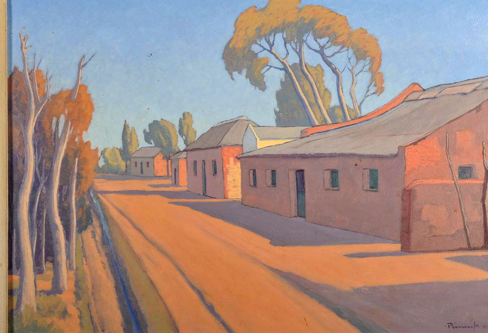Jacobus Hendrik Pierneef - Township