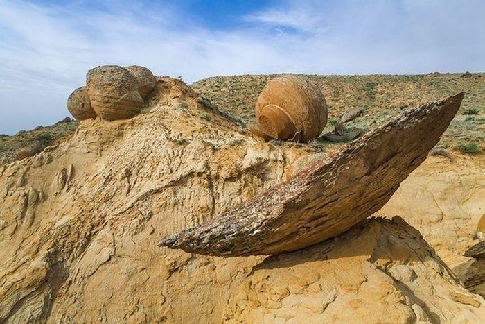 Mangystau, Kazakhstan Stone Balls 2