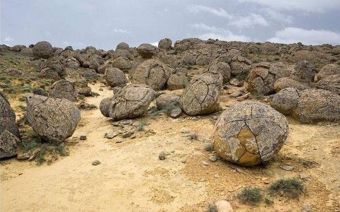 Mangystau, Kazakhstan Stone Balls 8