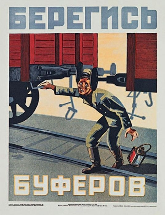 Russia Health And Safty Posters - Buffer
