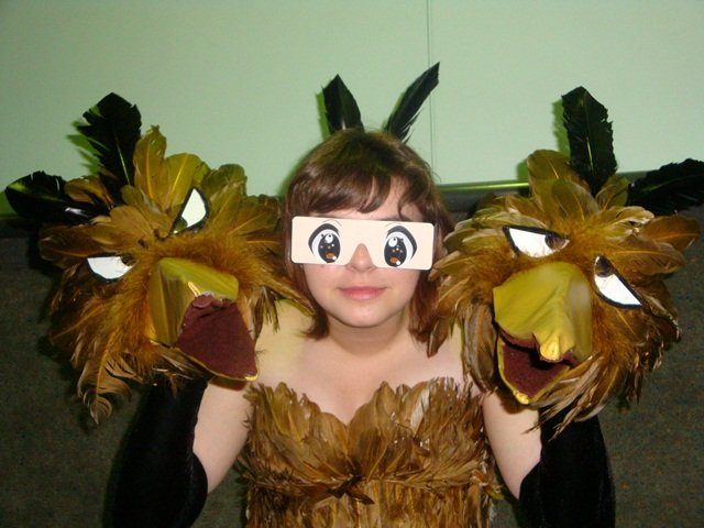 Pokemon Cosplay Best Worst - Bird With Three Heads
