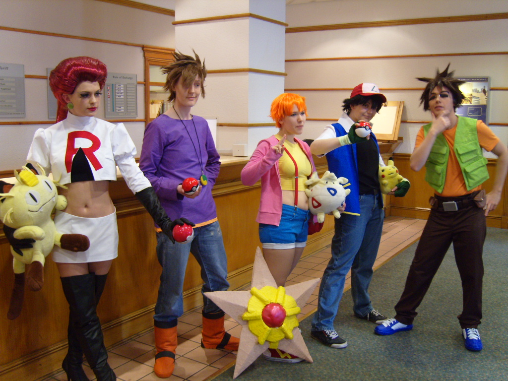 Pokemon Cosplay Best Worst - Blue Maiden