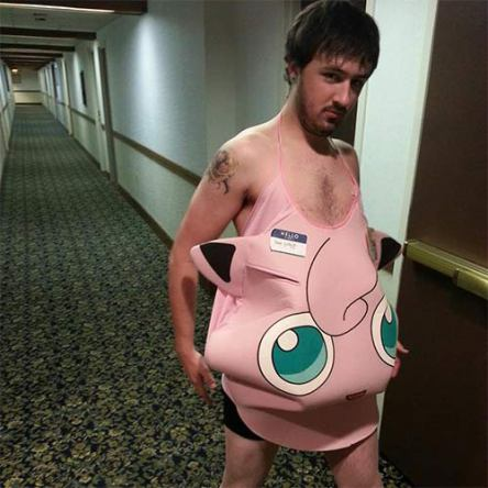 Pokemon Cosplay Best Worst - Pink Man