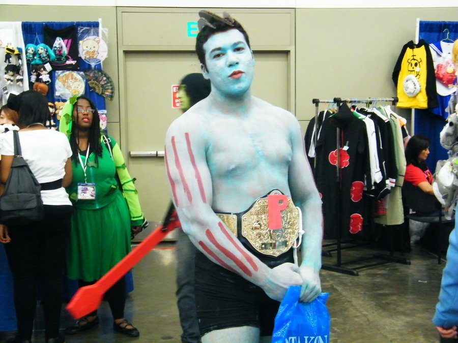 Pokemon Cosplay Best Worst - Wrestler Man