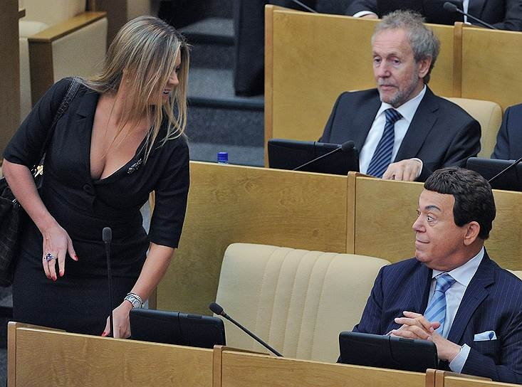 Russian Parliament Humour - old pervs