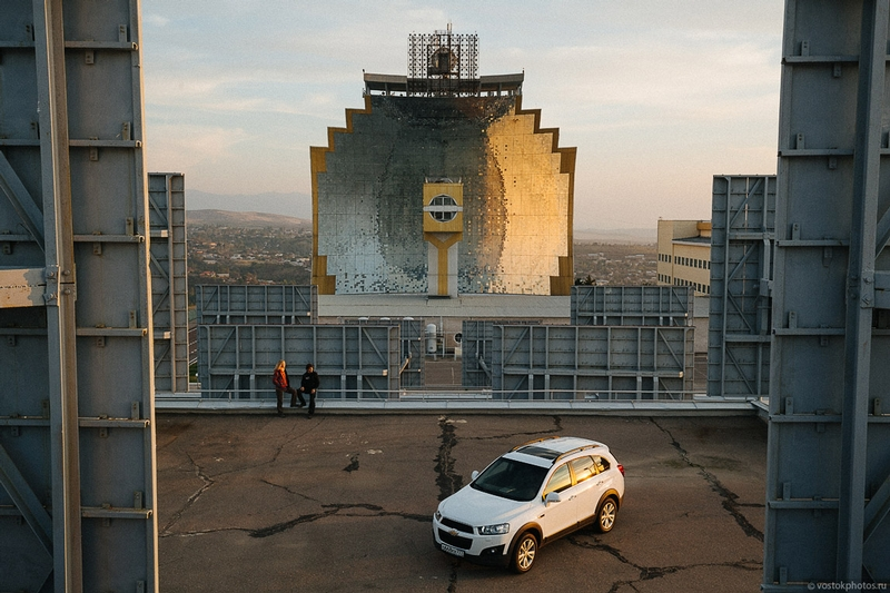 Uzbekistan Soviet Solar Furnace 1