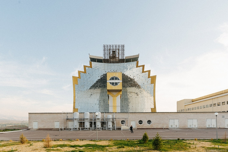 Uzbekistan Soviet Solar Furnace 6