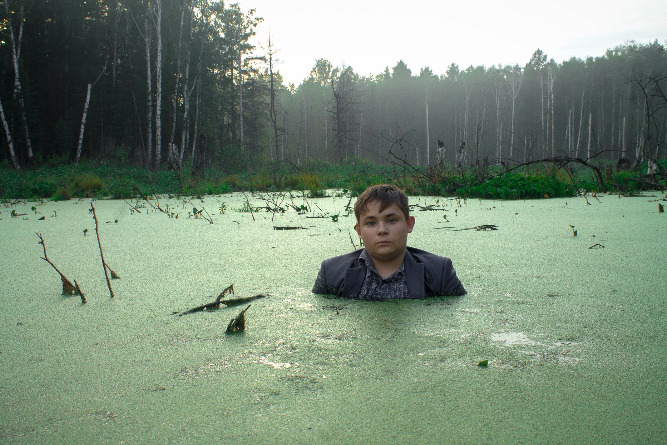 Awesome Russia - Dude In Swamp 3