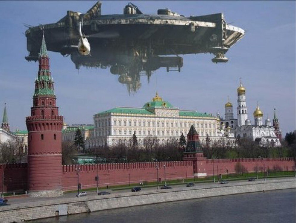 Awesome Russia - Millenium Falcon