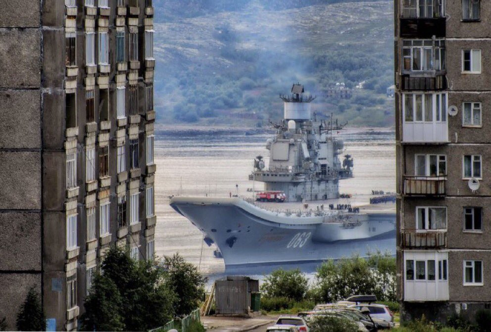 Awesome Russia - Warship Housing Estate