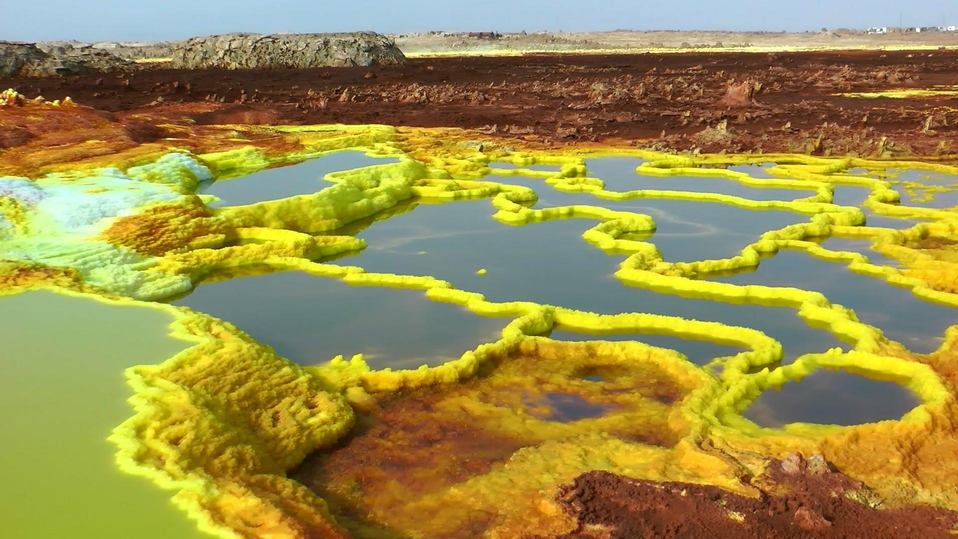 Danakil Depression Dallol Ethiopia Geothermal
