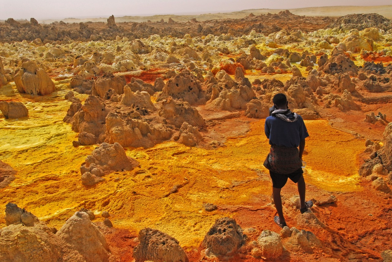 Danakil Depression Dallol People