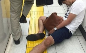 Photos Of Japanese People Sleeping In Public