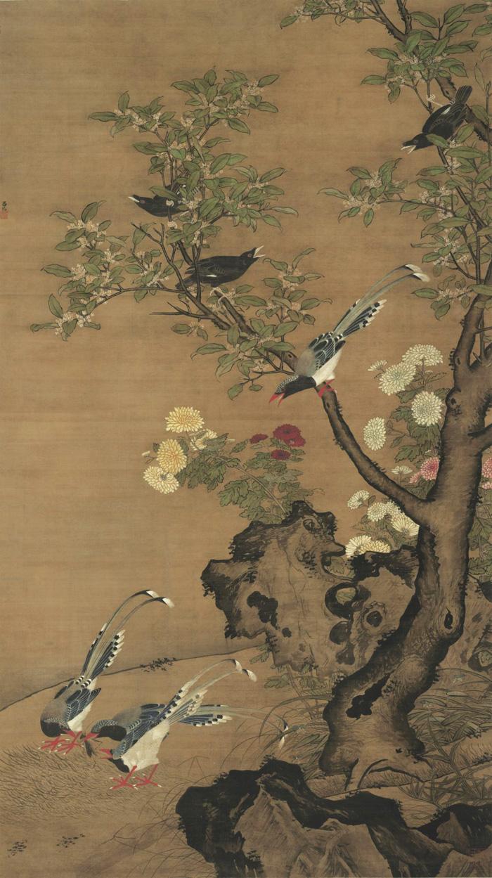 Old Paintings of Birds - Lü Ji (呂紀, fl. ca. 1439-1505)