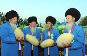 Turkmenistan Melon Day - Farmers
