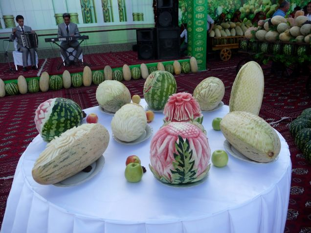 Turkmenistan Melon Day - Party Time