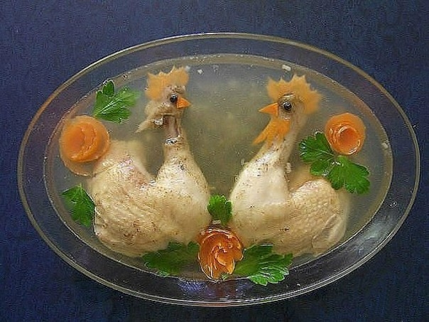 russian food art what a weird thing to do lazer horse
