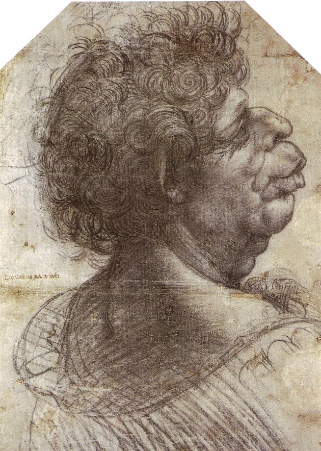 leonardo-da-vinci-sketches-grotesque