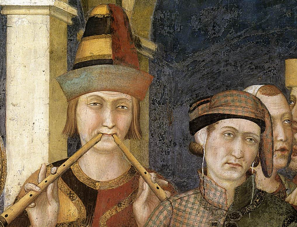 Simone Martini - St. Martin is Knighted (detail)