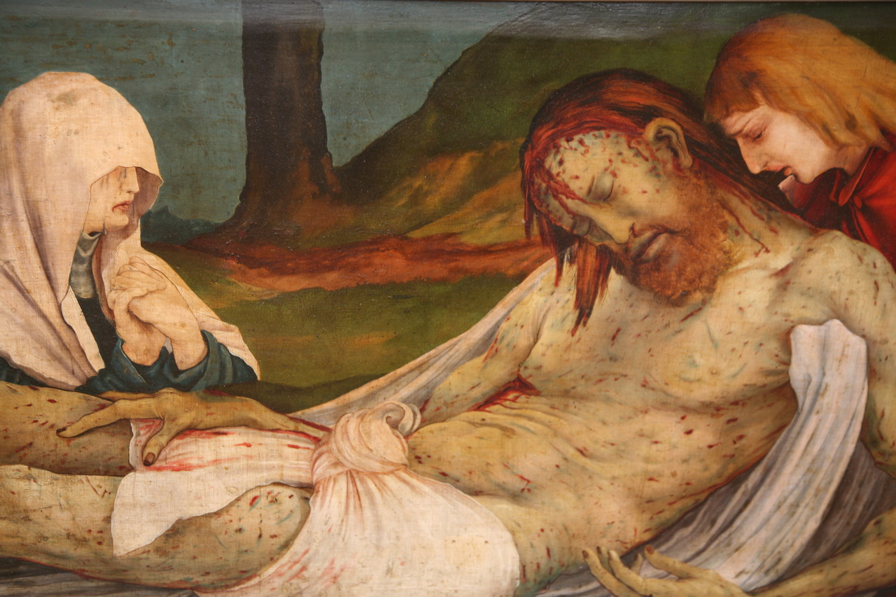 Matthias Grunewald - The Entombment c. 1512