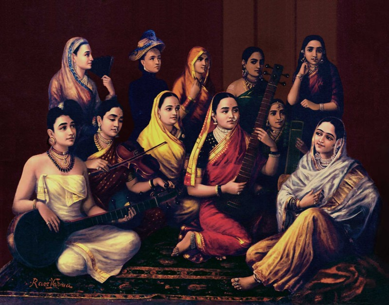 raja-ravi-varma-galaxy-of-musicians