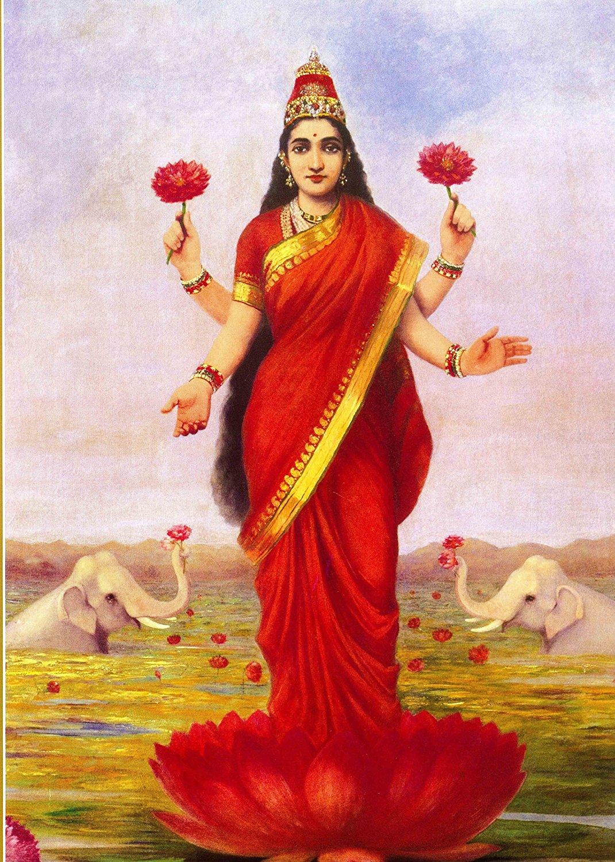 raja-ravi-varma-goddess-lakshmi