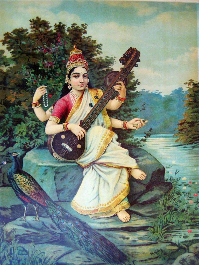 raja-ravi-varma-saraswati-2