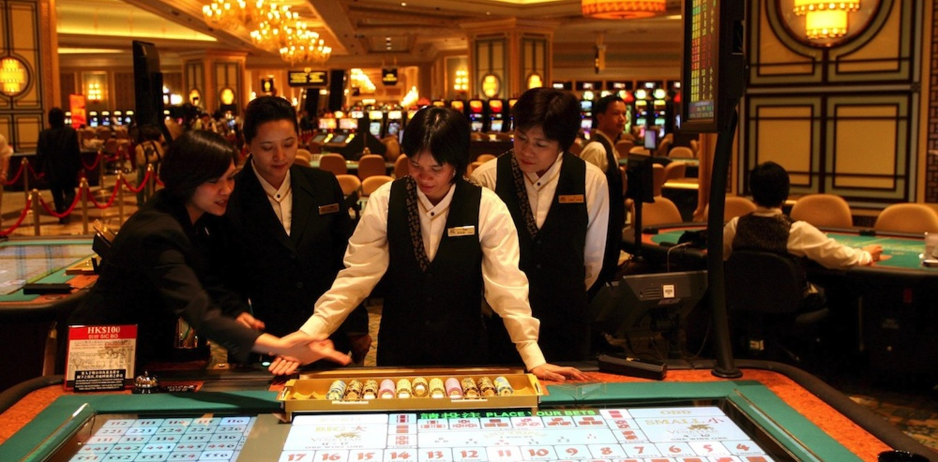 CHINA GAMBLING