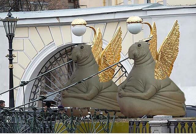 Awesome Russia - Weirdest Statues