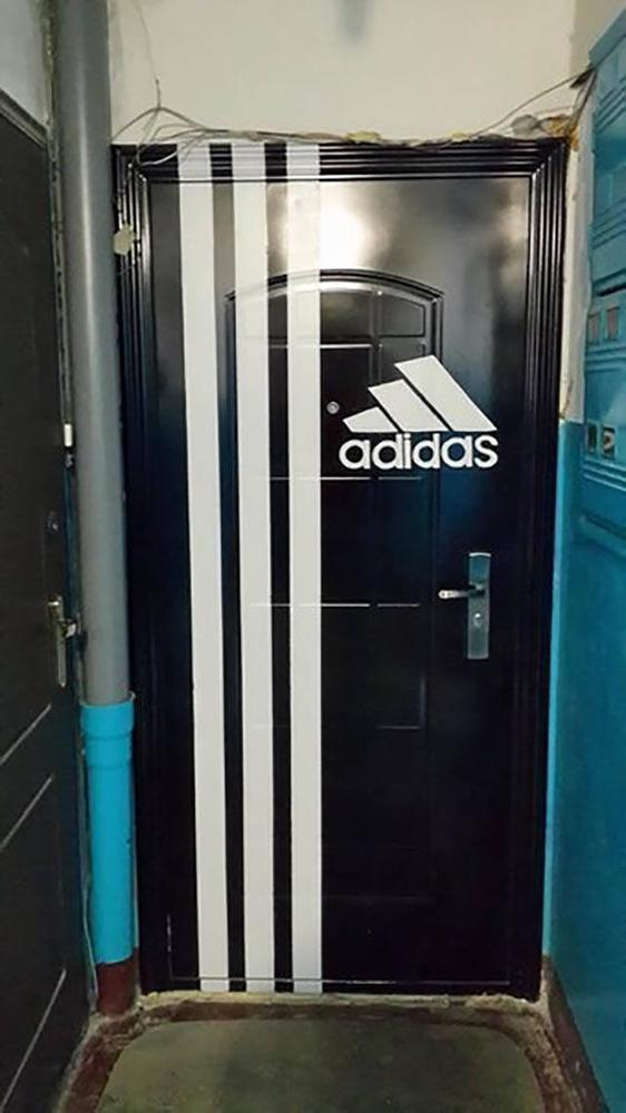 Russia - Adidas Design Front Door