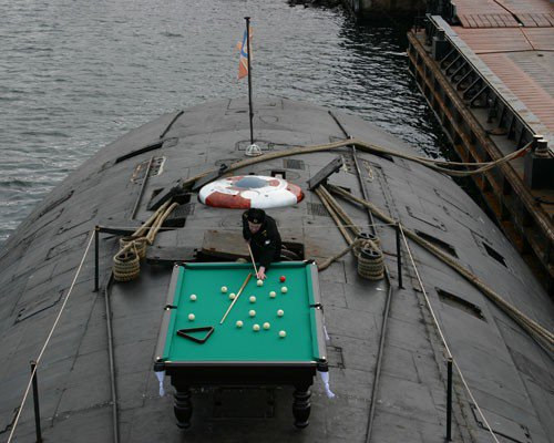 Russia - Submarine Snooker