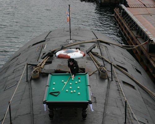 Russia - Submarine Snooker