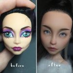 Artist Turns Old Dolls Into Haunting Hyperreal Toys