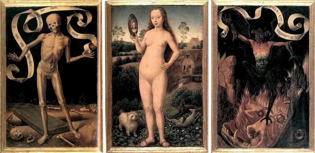 Hans Memling dark art 1400s