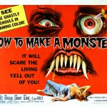 Old Horror Films - Retro Film Posters - How To Make A Monster
