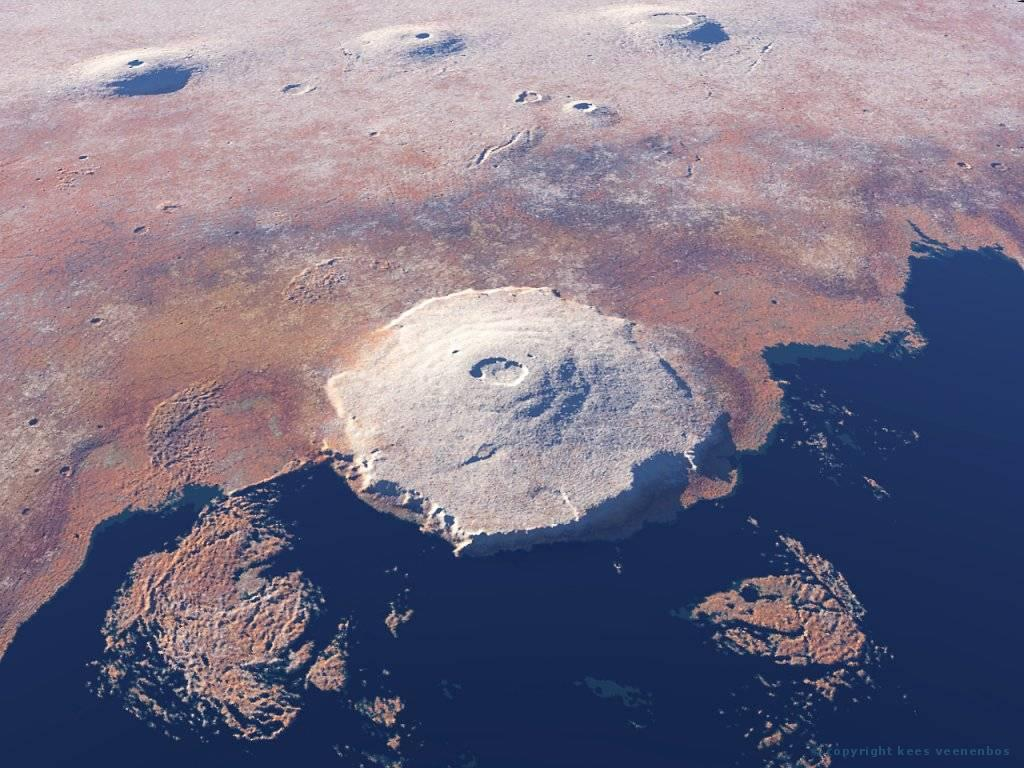 biggest volcano in our solar system - photo #14