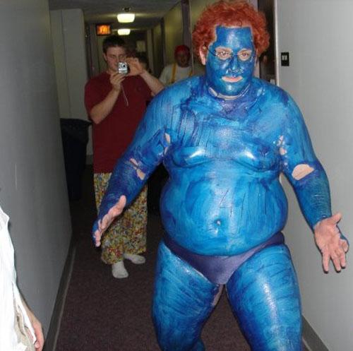 Iceman Body Paint