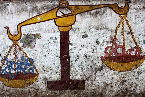 India Graffiti Mumbai Gender Inequality Lazer Horse
