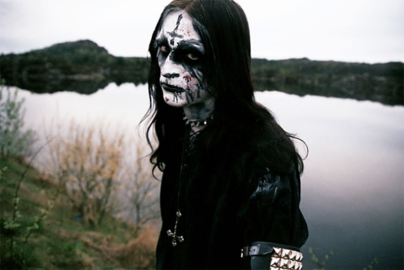 Black Metal Paint