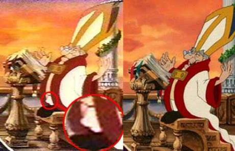 Disney Conspiracy Illuminati - Mermaid Bishop - Lazer Horse