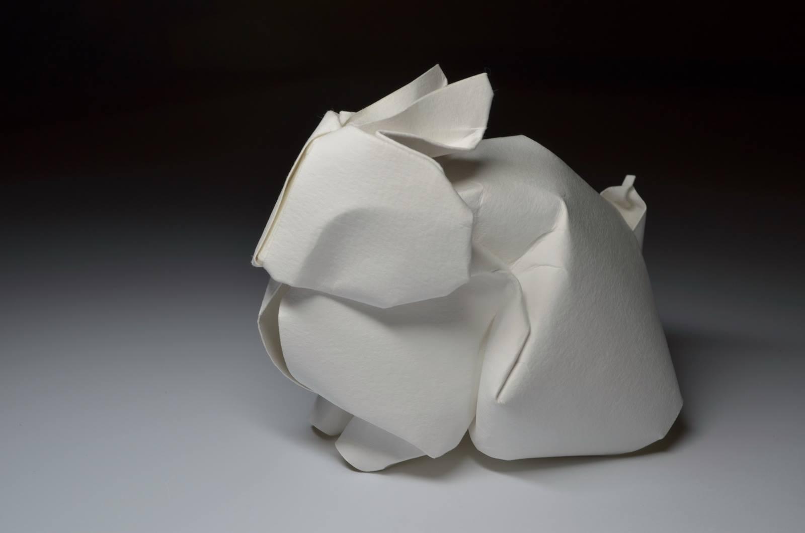 curved origami by ho u00e0ng ti u1ebfn quy u1ebft  u2022 lazer horse