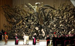 """The Resurrection"": Pope's Intriguingly Sinister Sculpture"